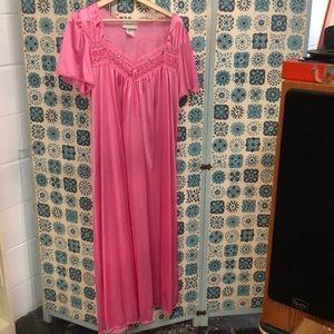 Vintage 1988 pink nightgown.